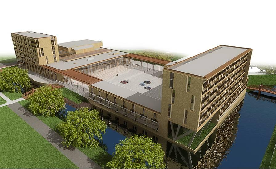 De nieuwbouw van Palenstein - hoogbouw maakt plaats voor hoogbouw