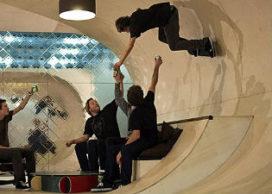 Villa voor pro skateboarder