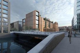 gmp ontwerpt uitbreiding Heinemann Hamburg HafenCity