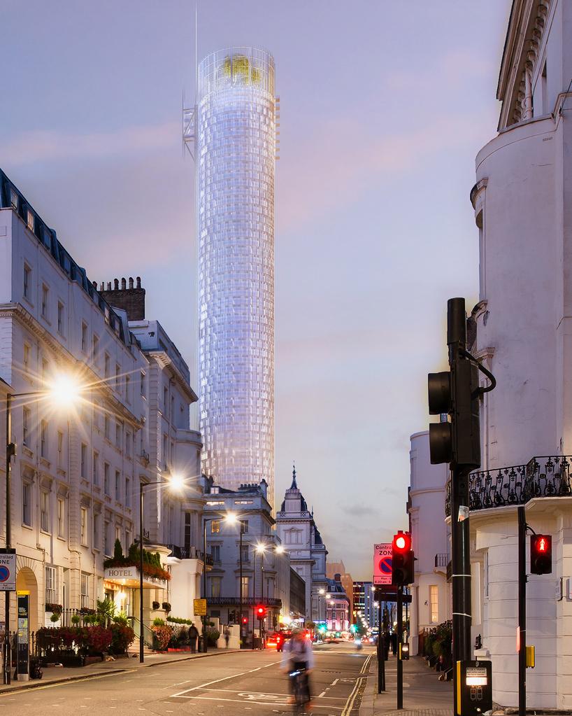 Render Ster van de Week - Piano_Ronde_Toren_Londen