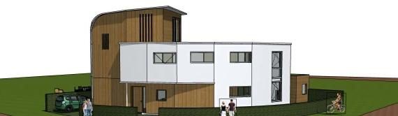 Huis van Piepschuim Nijmegen Lout architecten