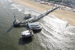 Scheveningse pier wordt openbaar geveild