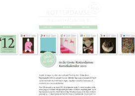 Pluk een dag op de Grote Rotterdamse Kunstkalender 2012