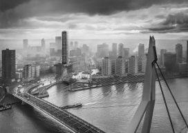Smalste woontoren van Europa in Rotterdam