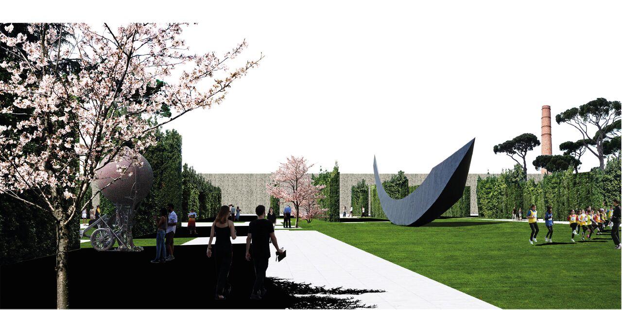 Prato Central Park winnaar OBR Michel Desvigne van gelijknamige prijsvraag Render Ster van de Week