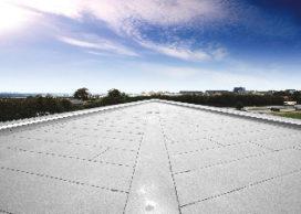 Luchtzuiverend dak op Schiphol