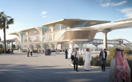 Metrostations Qatar Rail van UNStudio