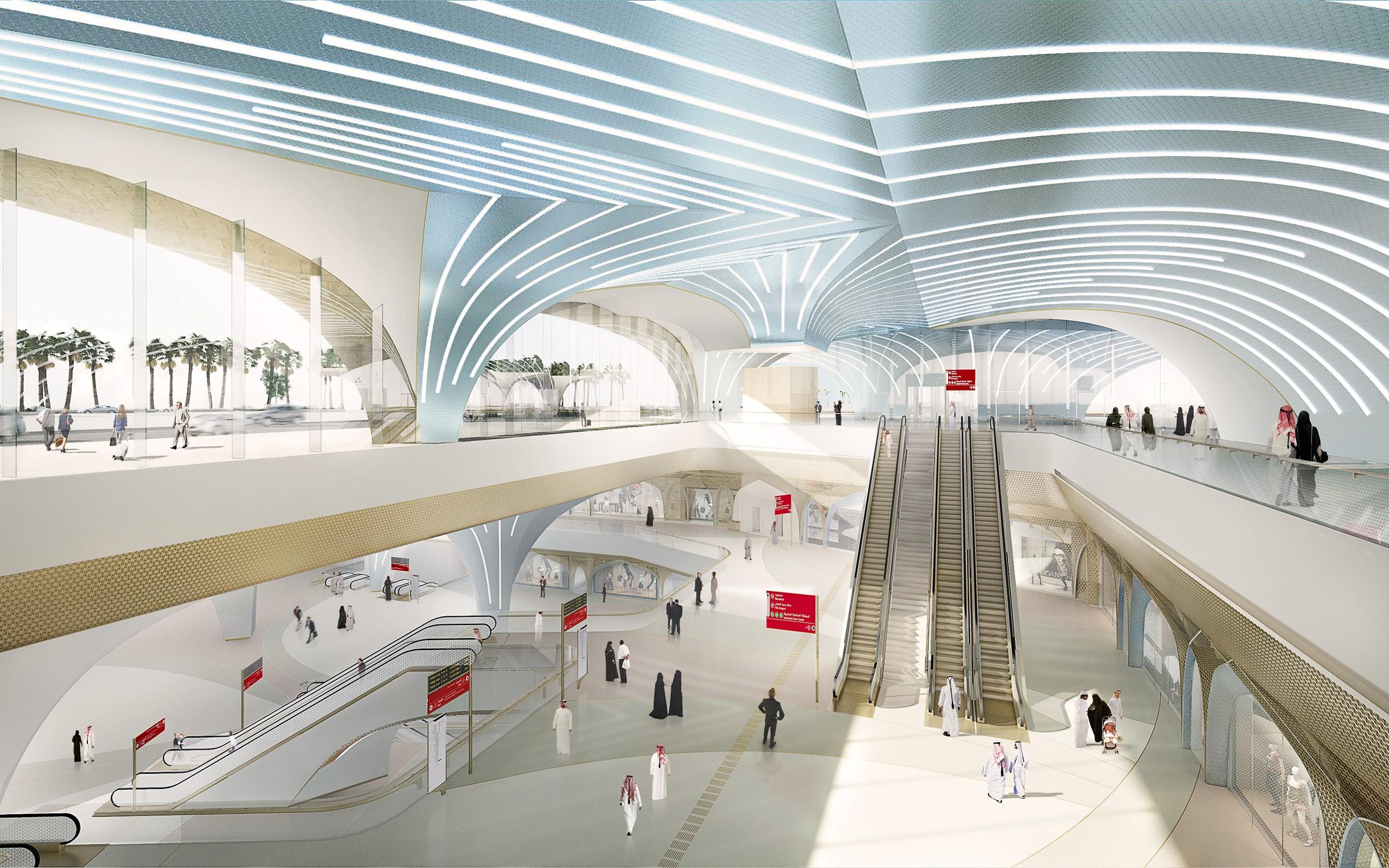 Qatar Metronetwerk door UNStudio