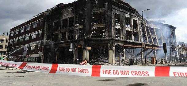 Resultaat rellen Londen 2011
