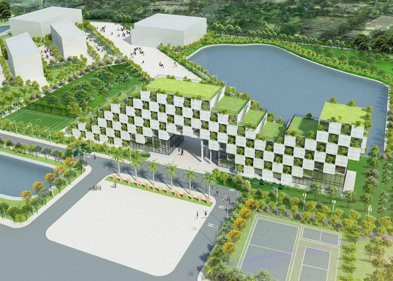 Renderster_Universiteitsgebouw_Hanoi