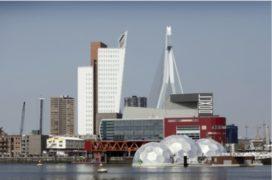 'Bouw collectiegebouw in Rijnhaven'