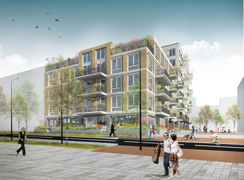 Woongebouw Rivers Amsterdam ZuidAs door Studio Ninedots opgeleverd