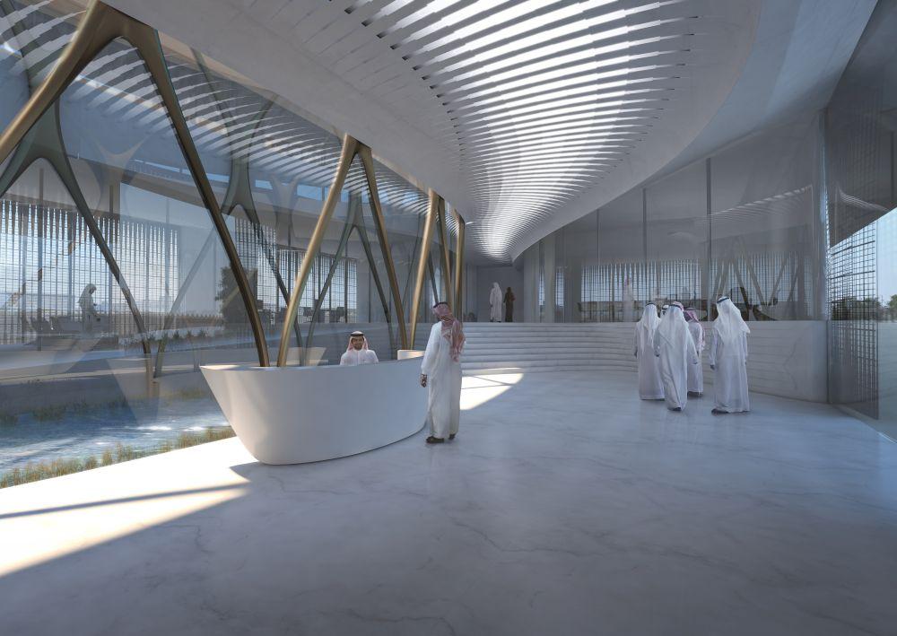 Zaha Hadid Heritage Centre Saudi Arabie
