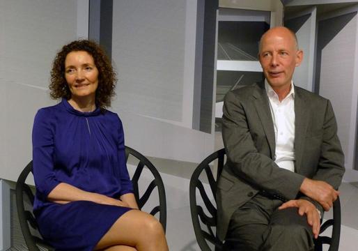 Caroline Bos en Ben van Berkel (UN Studio)