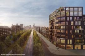 Bouw van 250 woningen in Parkstad