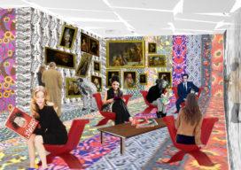 OMA ontwerpt tentoonstelling Galeries Lafayette Parijs