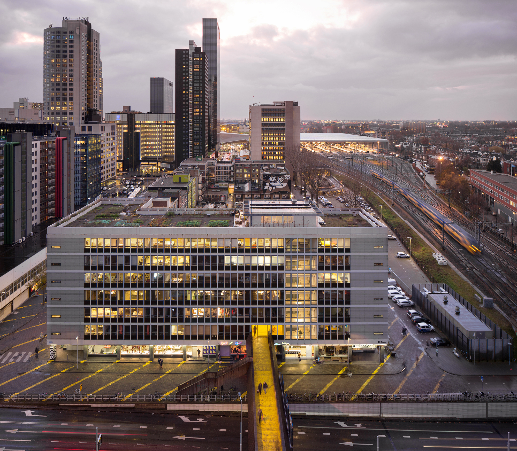 Schieblock Rotterdamse Architectuurprijs