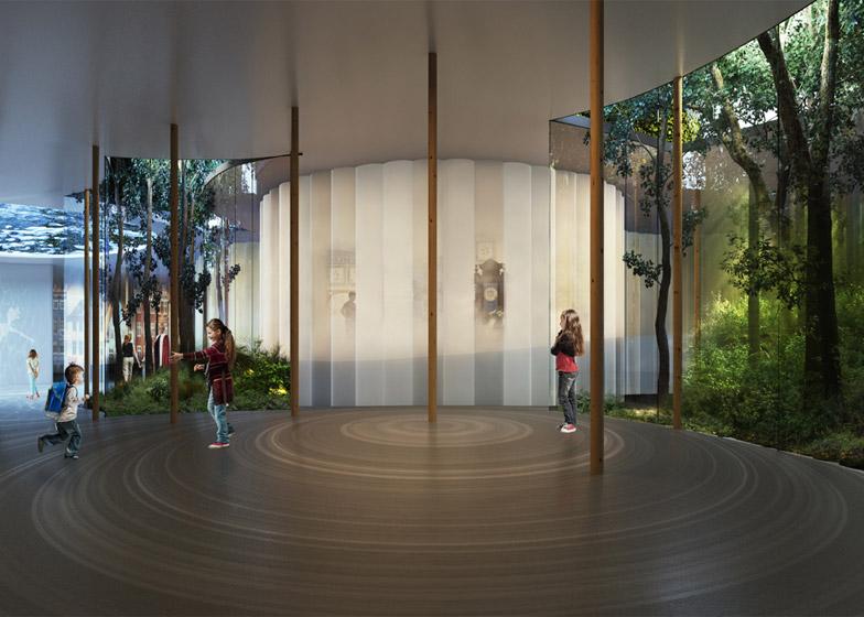 Hans Christian Andersen Museum door Kengo Kuma Render Ster van de Week