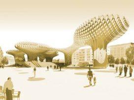 Markthal Metropol Parasol geopend in Sevilla (Spanje)