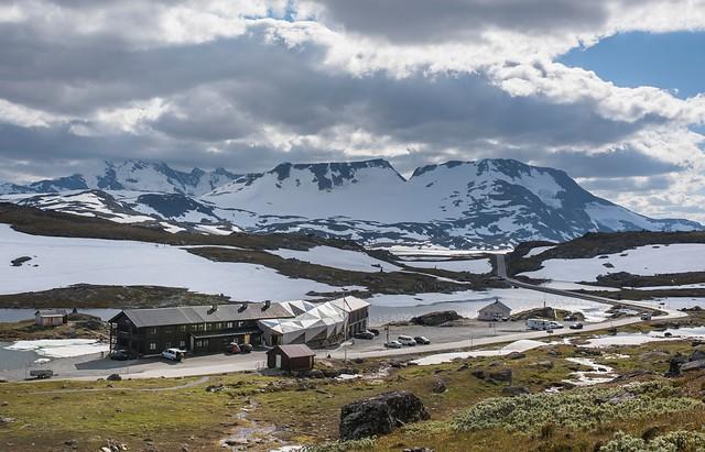 Sognefjellshytta Noorwegen door Jensen en Skodvin
