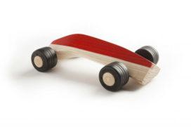 Design van de Week: Spliners houten speelgoedautootjes door Maarten Olden