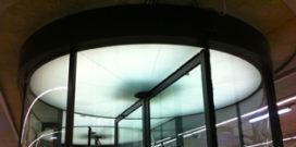 LED-verlichting in draaideuren