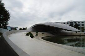 Porsche Paviljoen in Wolfsburg opgeleverd