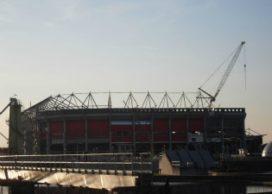 Koppelstaven stadion ontbraken