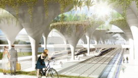 Team KCAP ontwerpt Quartier Gare TGV Montpellier