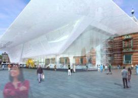 Nieuwbouw Stedelijk Museum ligt stil