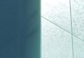 Gerecycleerde glazen gevelpanelen