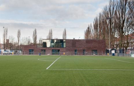 Clubgebouw Voetbalclub Swift Amsterdam