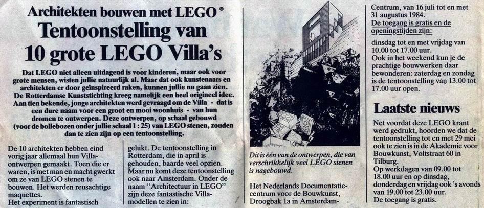 Legotentoonstelling 1984_Lego_architectuur_Blog_Astrid de Wilde
