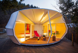 Happy glamping in Korea