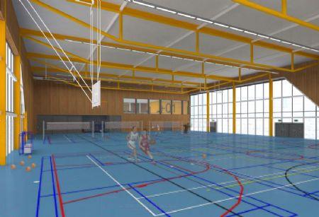 Tervuren Britse School Sportcomplex