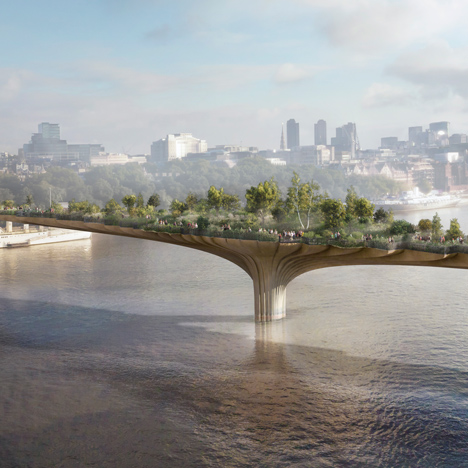 Garden Bridge van Thomas Heatherwick