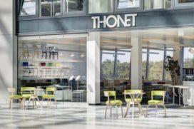 Thonet opent showroom op luchthaven Frankfurt