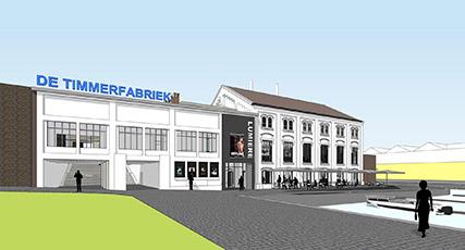 Transformatie Timmerfabriek Maastricht door JHK en Verlaan & Bouwstra architecten