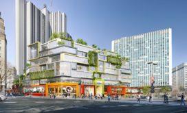MVRDV transformeert jaren 70 blok naast Gare Montparnasse