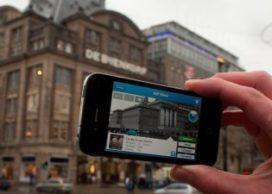Fietsen met de UAR-app in Amsterdam