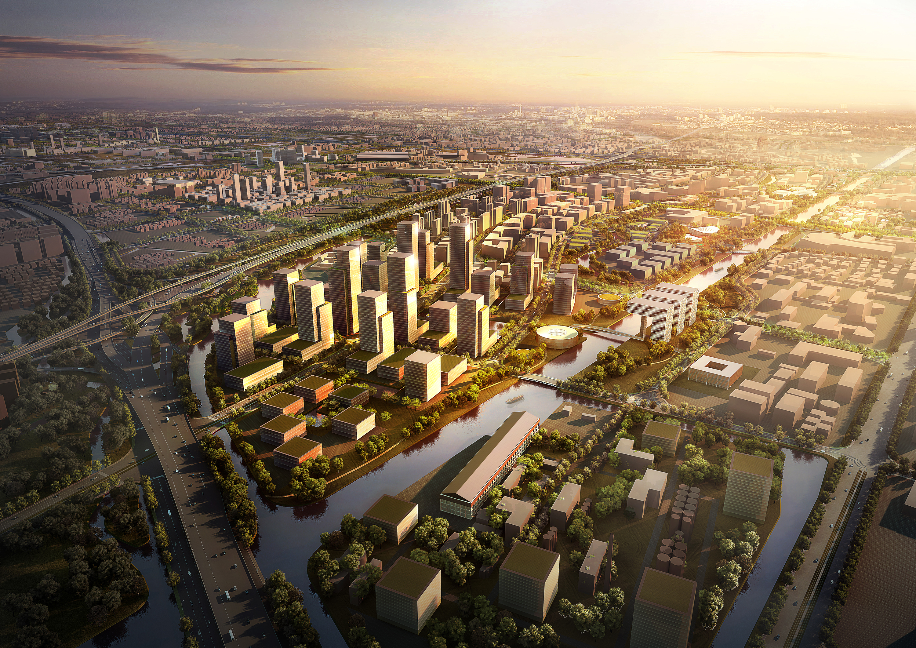 Masterplan Publiekscentrum Zhangjiang Science en Technology City
