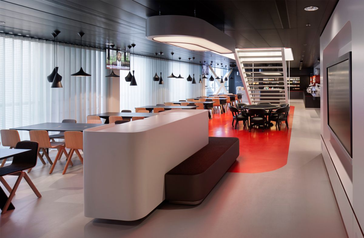 Flow traders hq amsterdam door team v architectuur de for Interieur ontwerp programma