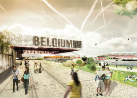 VenhoevenCS ontwerpt masterplan Luik expo 2017