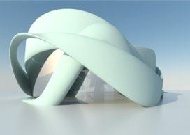 Vergaderfabriek in Teuge wordt eerste 3D-geprinte gebouw van Europa