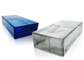 Een andere dimensie voor uw creativiteit met de glasblokken Seves glassblock!