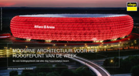Moderne Architectuur voor het hoogtepunt van de week