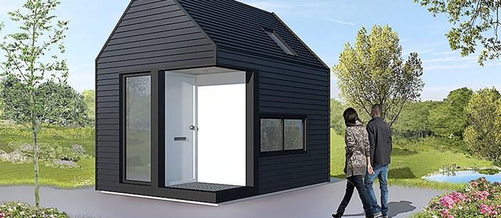 Vluchtelingenhuisjes bij particulieren in de achtertuin naar een idee van Jan Borkent