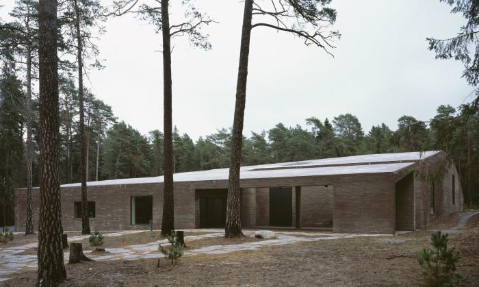 The New Crematorium Woodland Cemetary, Johan Celsing Architects. Foto: Ioana Marinescu