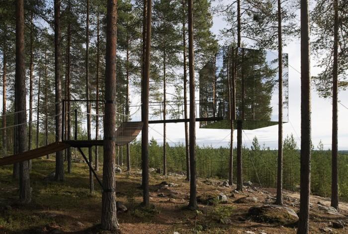 The Tree Hotel, Tham Videgard. Foto: Åke E:son Lindman