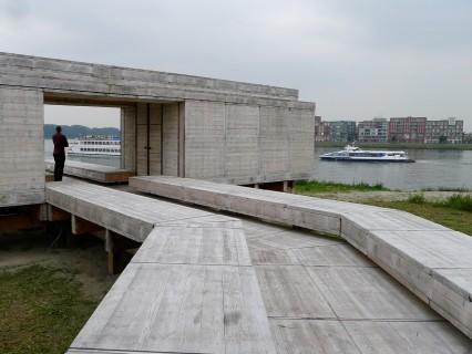 Wachten op de rivier in Dordrecht door Observatorium